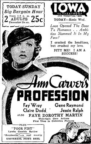 Ann Carver ad 300