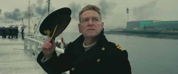 Capt Bolton with smoke behind