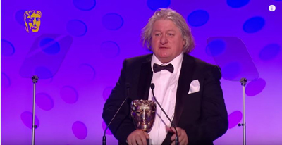 David Roger accepts BAFTA