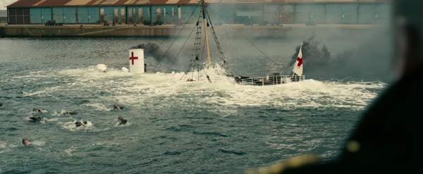 Dunkirk Red Cross ship sinking