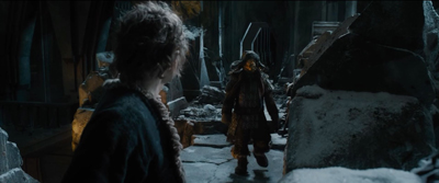 Erebor, Bofur and Bilbo talk 2