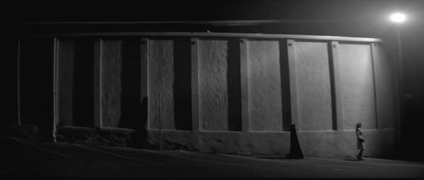 a Girl Walks Home Alone at Night Skateboard of a Girl Walks Home Alone