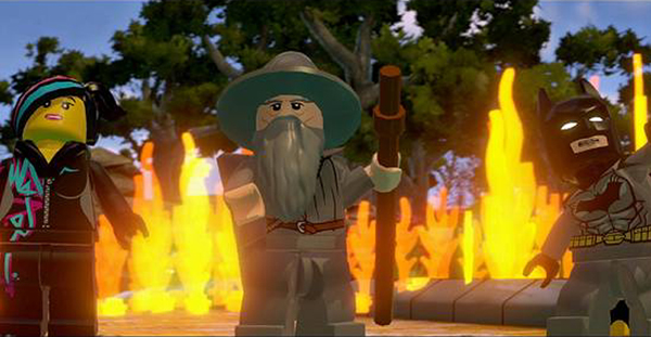 Gandalf in The Lego Movie