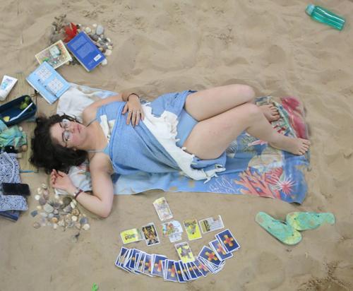 Beach Voyeur - Wonderful pair exhib at beach.