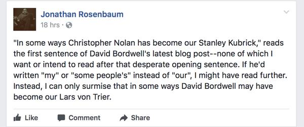 Observations on film art : Nolan book 2 0: Cerebral