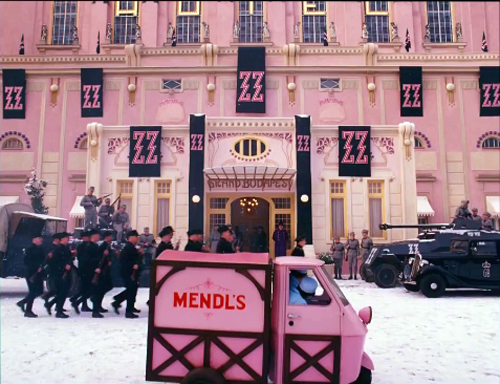 THE GRAND BUDAPEST HOTEL: Wes Anderson takes the 4:3 challenge