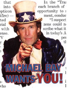 Michael Bay as Uncle Sam 2