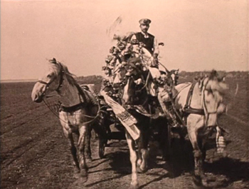 Pesant Women of Ryazan, carriage