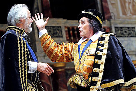 Rylance as Richard III