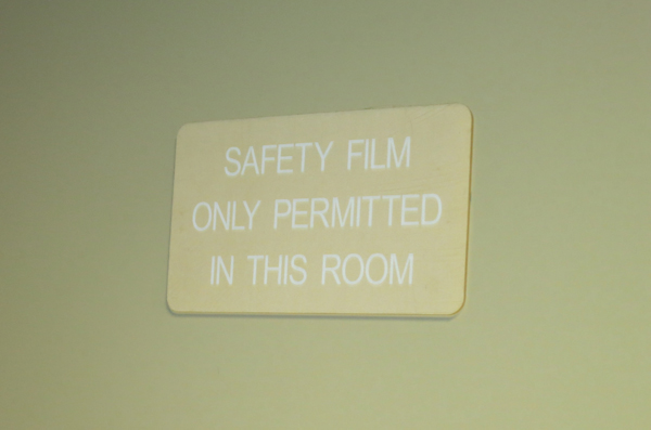 Safety film 600