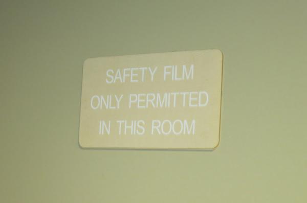 Safety film 600