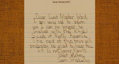 Sam's letter 400