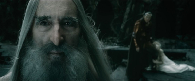 Saruman 'Leave Sauron to me'
