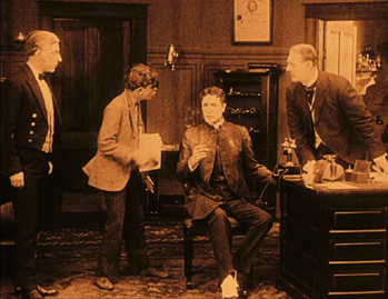 Sherlock Holmes Watson's office