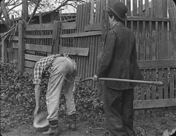 The Tramp Charlie & pitchfork